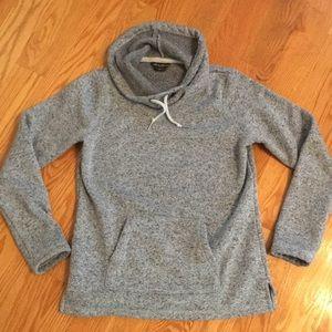 Eddie Bauer Pullover Sweatshirt Light Blue/Gray